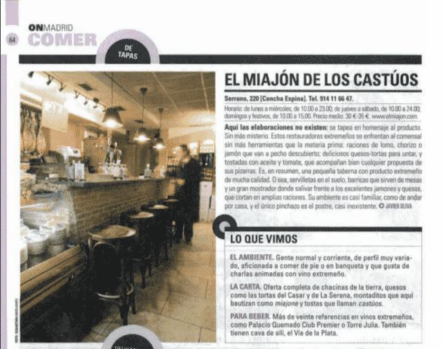 El Miajón de los Castúos - Historico