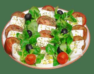 El Miajón de los Castúos -Plato ensalada